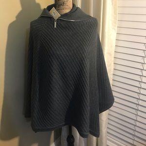 Michael Kors sweater cape/ poncho